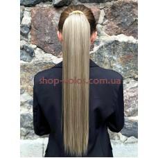 Шиньон прямой № 68-613 пепельно-русый блонд