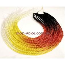 Косички SENEGAL -Y117 черн/красн/желт/бел