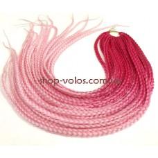 Коси ZIZI - Y80 малиново-рожеві