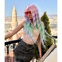 Перука на сітці Lace Wig Gianna № 07 різнобарвний