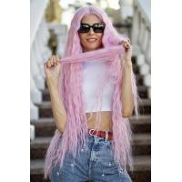 Парик на сетке Lace Wig Bohemian Pink розовый